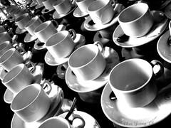 Tea, coffee or me? (CheeYeong) Tags: white cup coffee