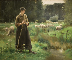 Peasant Girl with Sheep (Maulleigh) Tags: art girl museum painting julien san francisco with sheep fine arts honor legion peasant honour dupr