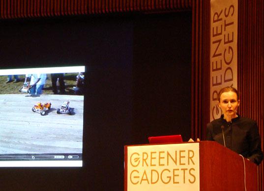 Natalie Jeremijenko talking about Feral Robotic Dogs