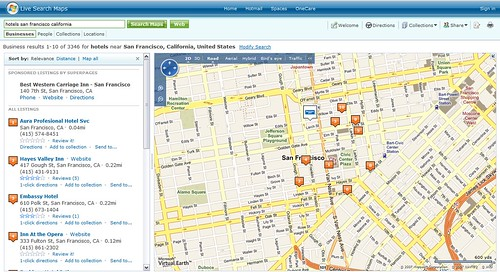 Resultados de Live Maps