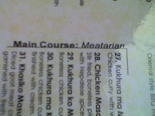 meatarian