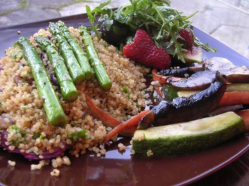 Quinoa with Asparagus