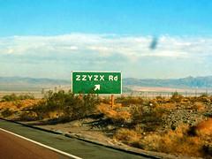 I-15 Road Sign, Mojave Desert, California (StevenM_61) Tags: california road usa sign unitedstates desert freeway carshot thefunhouse interstatehighway