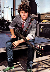 Nick Jonas Holding His Guitar (Future Mrs Nicholas Jonas) Tags: kevin brothers nick joe nicholas jb jonas jonasbrothers nickjonas kevinjonas joejonas nicholasjonas