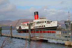 PS MAID OF THE LOCH (Hugh Spicer / UIsdean Spicer) Tags: steamship steamer balloch lochlomond paddlesteamer paddler maidoftheloch