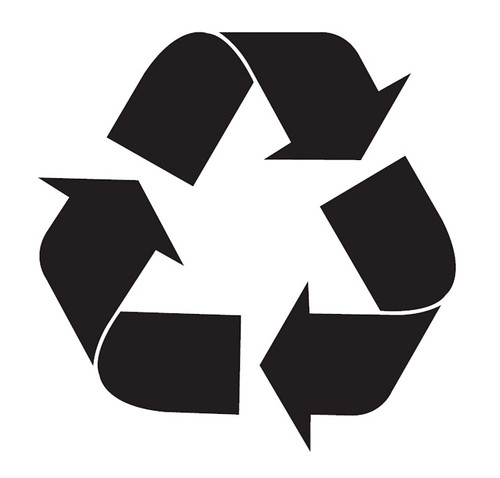 reduce reuse recycle logo. Reduce Reuse Recycle Black