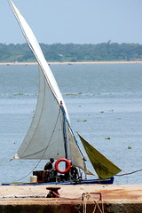 Sailor entering Maputo port. Mozambique, Africa. (E. B. Sylvester) Tags: africa sea port boat mozambique maputo afrique ebsylvester