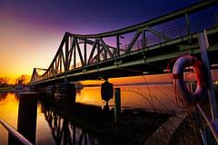 Heading home (96dpi) Tags: bridge sunset berlin son