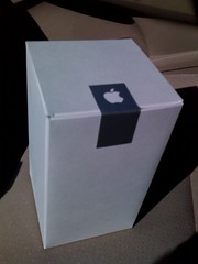 Box from Apple store