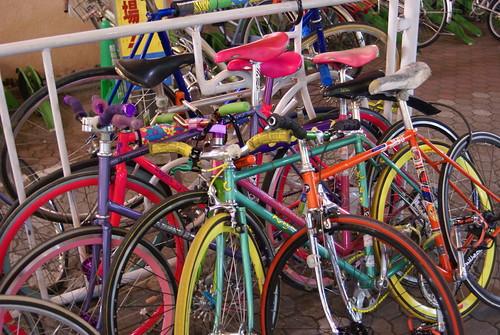 Depot Crew Bike Pile!!!
