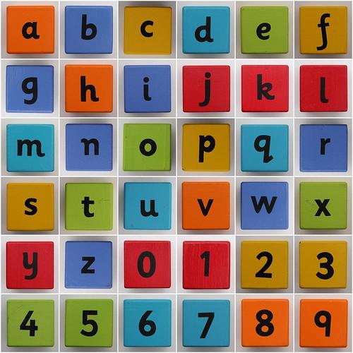 Alphabet Blocks by Leo Reynolds.