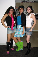 Tie Party (seaotter22) Tags: girls friends party three apartments boots tie sophomore rainboots tieparty