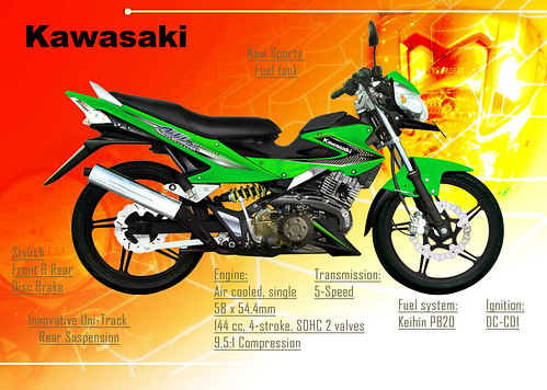 Kawasaki Fury 125 идеи изображения мотоцикла
