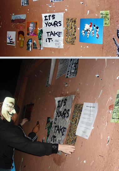Guerrilla Art Phoenix AZ
