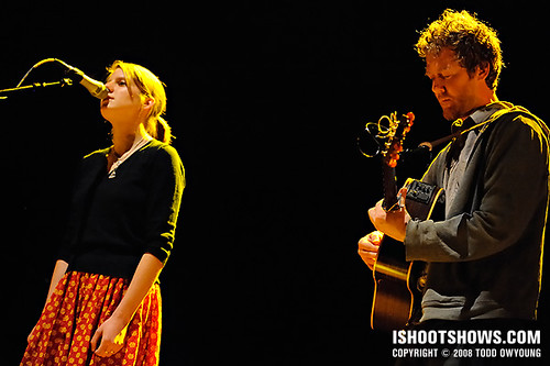 Glen Hansard & Markéta Iglová @ the Pageant 2008.05.06