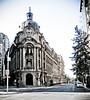 Centro do Chile (Ninha Morandini) Tags: chile santiago blackandwhite bw white black branco downtown centro pb preto bolsa pretoebranco comercio monocromatico aplusphoto