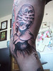 bleeding 'Poupee' tattoos of miss