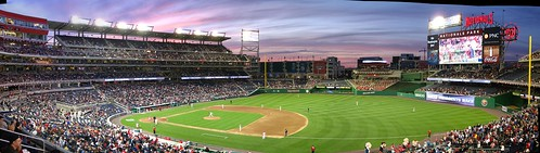 Nats Park sunset