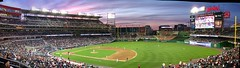 Nats Park sunset (randomduck) Tags: sunset panorama washingtondc baseball pano dcist ballpark mlb beisbol philadelphiaphillies washingtonnationals nationalspark