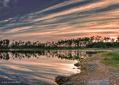 LONG PINE KEY, EVERGLADES (carlosm76) Tags: sunset lake nature water pine digital forest canon landscapes key long florida miami everglades dp sensational evergladesnationalpark hdr stateparks potofgold longpinekey 40d mywinners canon40d photostosmileabout colourartaward peachofashot
