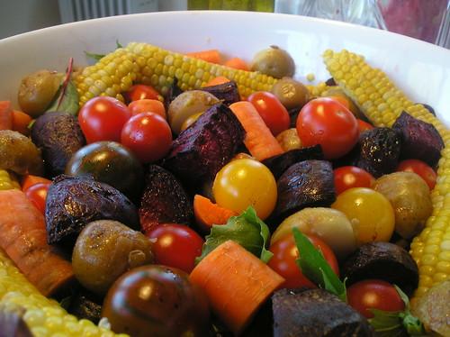 My salad! yumm!