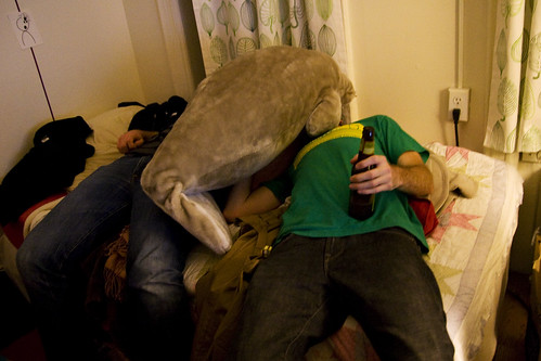 drunk with manatee