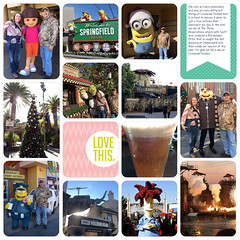 Vacation NovDec 2016 D-18.jpg (girl231t) Tags: zzprojectlifeapppages 0scrapbooking 04year 2016 0photos vacation 01family 01people 02event scrapbook layout 12x12layout projectlifeapp universalstudioshollywood