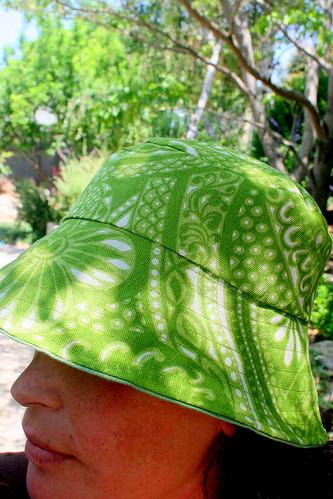 Sun hat done