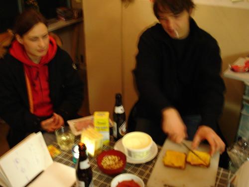 Schinken Käse Toast Abend bei trudi.sozial