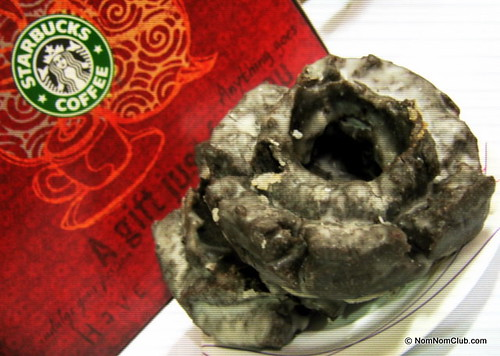 Starbucks Chocolate Old Fashioned Doughnut