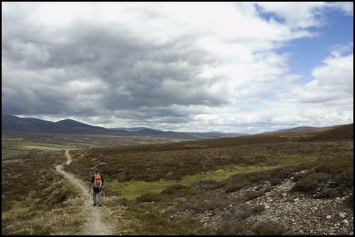 Long Walk Back to Geldie Lodge