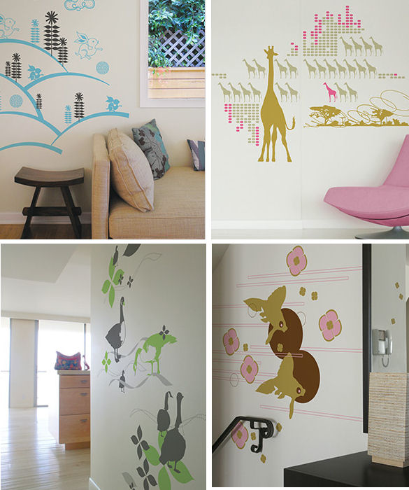 Mel Lim Wall Decals {new}
