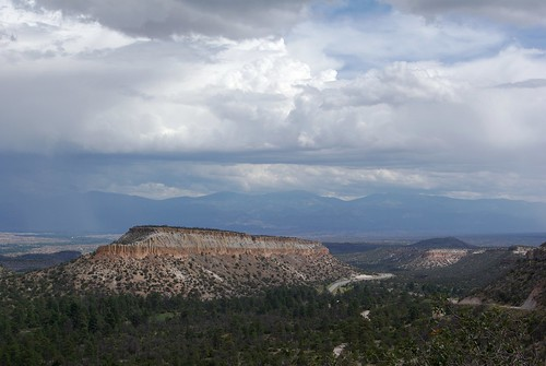 Los Alamos, NM, Scenic Overlook