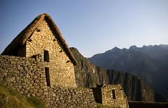 the hut (Alida's Photos) Tags: mountains peru southamerica inca sunrise ruins hut andes machupicchu