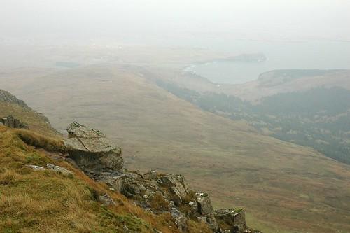 Loch Bharcasaig From Healabhal Bheag