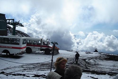 Parking Lot at Etna