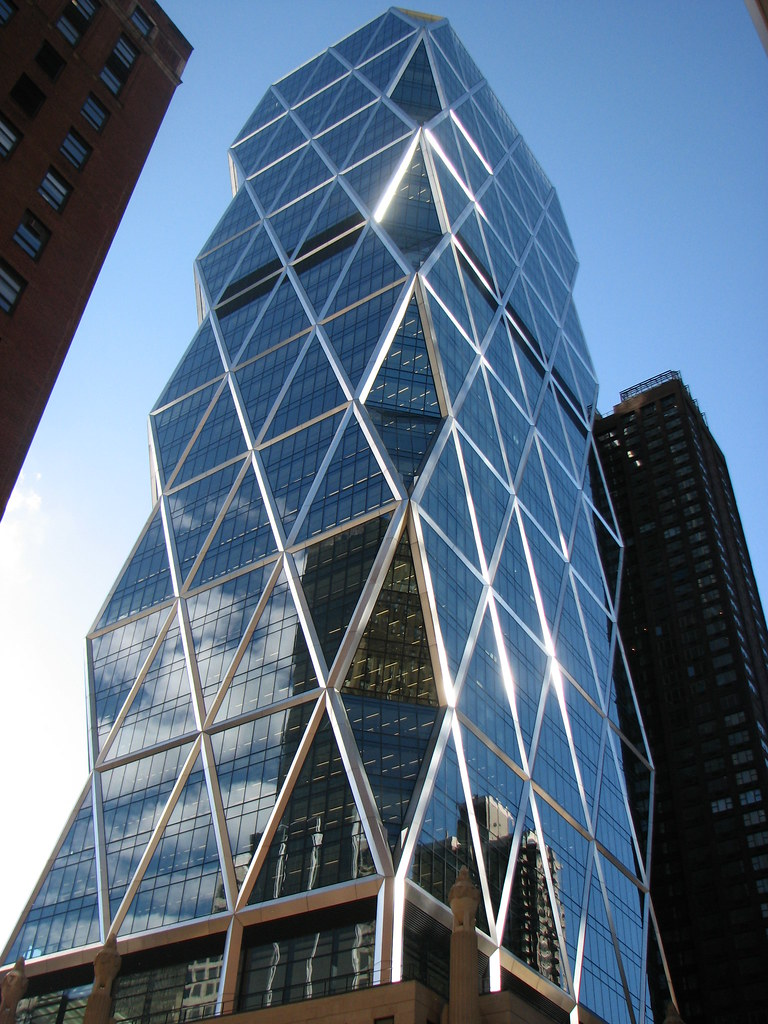 Hearst Magazine Building New York 8th Avenue And West