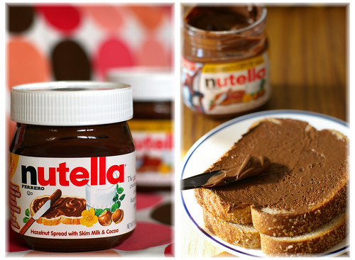 nutella and bread