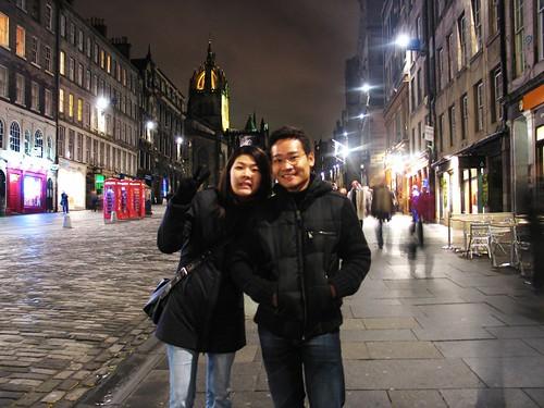Ben and Shirley, Edinburgh, Scotland