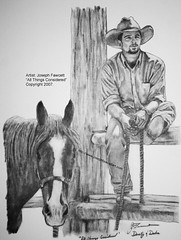 """All Things Considered"" (josephfawcettart) Tags: ranch horses horse man men dusty cowboys cowboy western youngman pencilsketch youngmen youngcowboy ranchart westernart pencilsketches sexycowboy westerncowboy westernranch westerncowboyart josephfawcettartist joefawcett josephfawcett westernranchart"