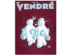 1958-Jan vendre design magazine (Grain Edit.com) Tags: france modern illustration magazine design graphicdesign 1950s 1960s vendre midcentury