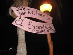 Restaurant where we ate.  La Pepa is very gay.