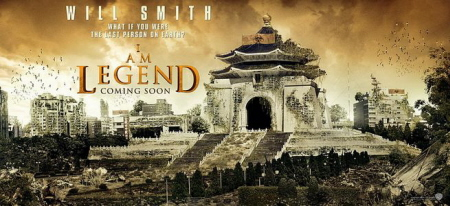 Poster Soy leyenda I am legend