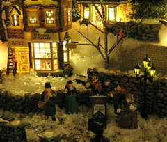 Dickens Village #3 (kevin dooley) Tags: christmas xmas decorations favorite snow macro beautiful night wow miniature interesting fantastic flickr pretty very good gorgeous awesome award superior streetscene super best scrooge collection explore most lamppost winner stunning excellent much nightscene dickens incredible breathtaking exciting christmascarol phenomenal dickensvillage studio56 mywinners