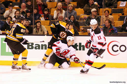 Boston Bruins and New Jersey Devils