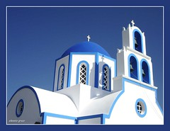 the greek flag (alessio grazi) Tags: blue summer color church colors bells interestingness amazing perfect colours bell top paisagem best santorini greece grecia paysage viewed favorited faved campane blueribbonwinner  pejzaz mywinners abigfave superaplus aplusphoto superbmasterpiece diamondclassphotographer platinumheartaward pentaxs50 theperfectphotographer goldstaraward top20greece llovemypic alessiograzi