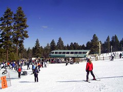 Snow Summit Express (See El Photo) Tags: ca girls boy people mountain snow cold male girl lady female children outside person kid skies child stranger lass snowboard skier slippery bigbear snowsummit
