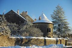 Une tour des fortifications d'Orgelet