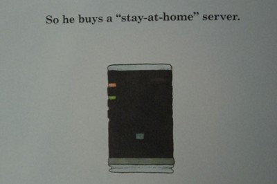 u r just jealous, cuz you dont have your own home server! :p