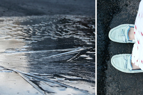 ice puddle